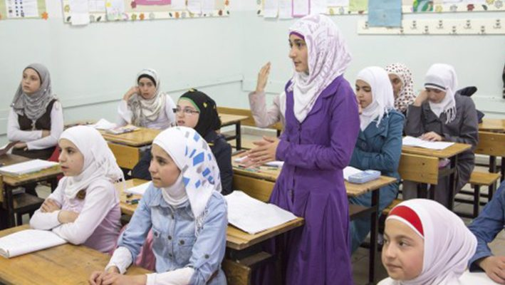 Turkish educational centre graduates a group of student of Syrian orphansimage