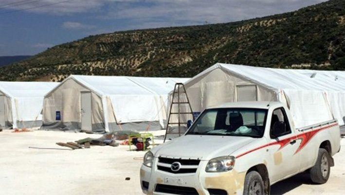 """Turkish Red Crescent creates """"field hospital"""" in the countryside of Idlibimage"""