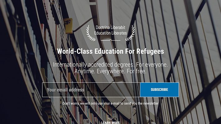 German University Allows Refugees to Study Onlineimage