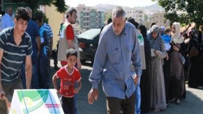 Saudi Arabia, the end of the second and the third stages of the national Ramadan campaign To support Syrianimage