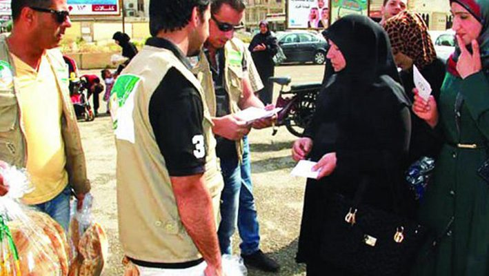 Saudi national campaign provides bread to 3,900 families in Syriaimage