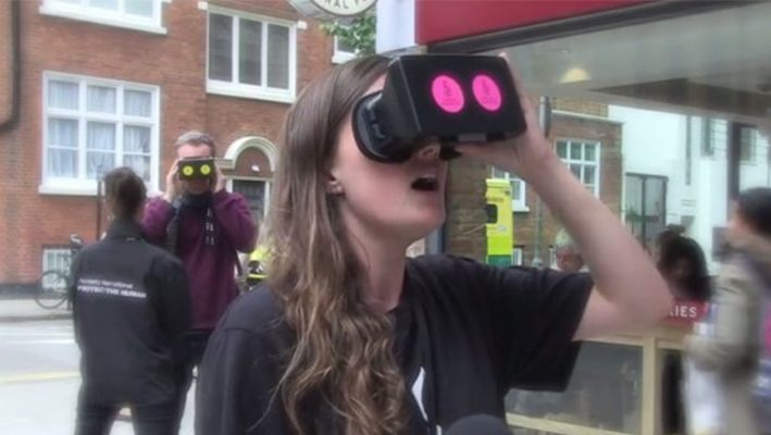 """British watch Aleppo in the """"virtual reality"""", initiation by Amnesty Internationalimage"""