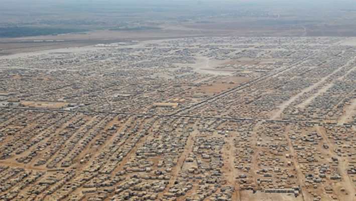 Humanitarian catastrophe threatening the Syrian refugee camps in Jordanimage