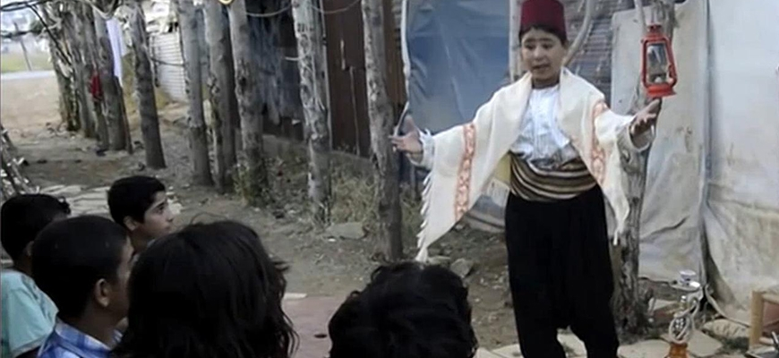 Salam Ya Sham .. shining hope in refugee campsimage
