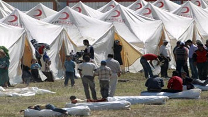 Turkey going to build a camp for Syrian refugees with a capacity of 55 thousand people in Kellsimage