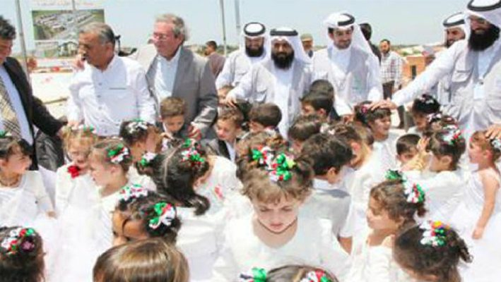 "The Qatar Foundation ""Raf"" establish the largest city to house Syrian orphans in Turkeyimage"