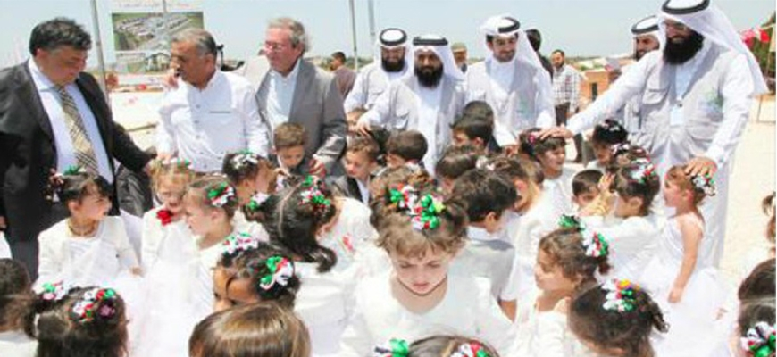 """The Qatar Foundation """"Raf"""" establish the largest city to house Syrian orphans in Turkeyimage"""