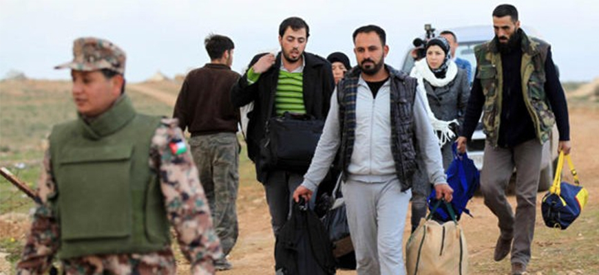UNHCR collect two million dollars for the benefit of the Syrian families do not receive aid in Jordanimage