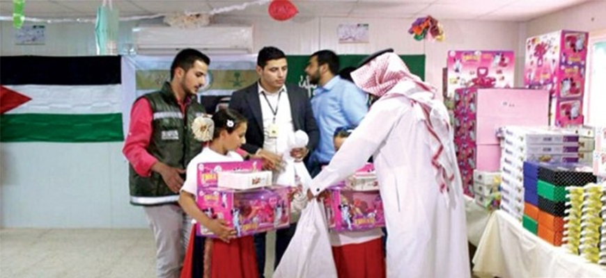 """Saudi National Campaign organizes celebration in Eid Al-Fitr, entitled """"Brother we are joyed by you""""image"""