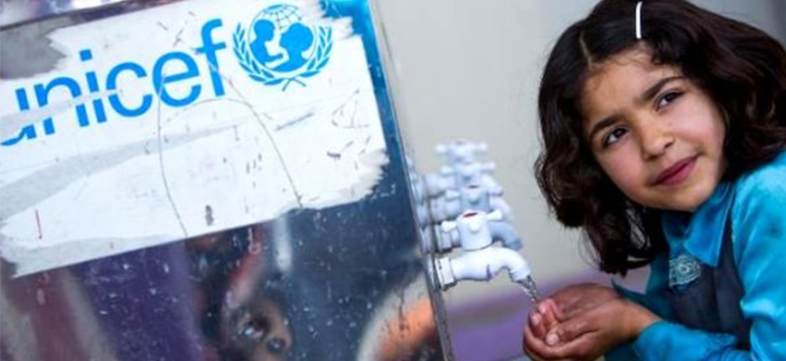 """UNICEF warns: millions of children at high risk for """"water diseases"""" in Syriaimage"""