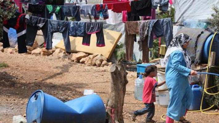 The heat of Bekaa camp destroys the health of Syrian refugeesimage
