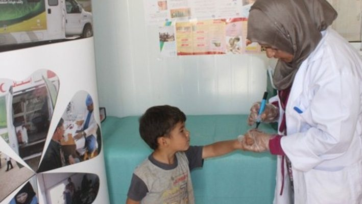 Dermatology Clinic in specialized Saudi clinics treat 932 Syrian refugees in Zaatari campimage