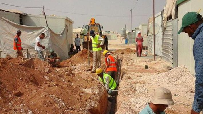 UAE to fund sanitation project to help Syrian refugees in Zaatari campimage