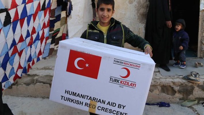 """Billion Lira"" from the Turkish Red Crescent to Syria during 4 yearsimage"