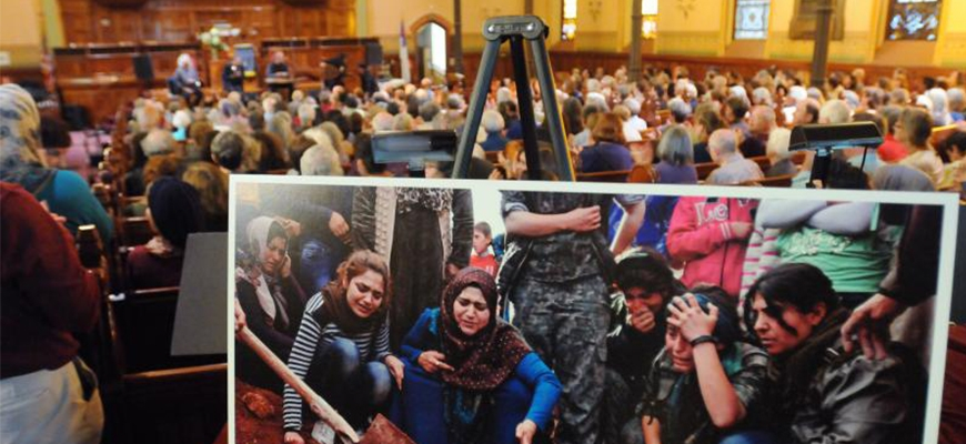 Syrian relief effort features music, appeals for aidimage