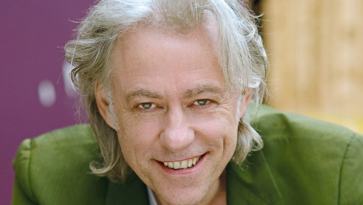 Bob Geldof offers to take four refugee families into his homeimage
