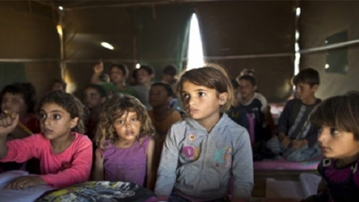 A plan to append a million displaced Syrian children to educationimage