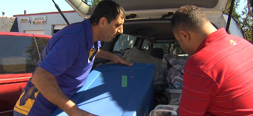 Lynchburg Man Collects Donations for Syrian Refugeesimage