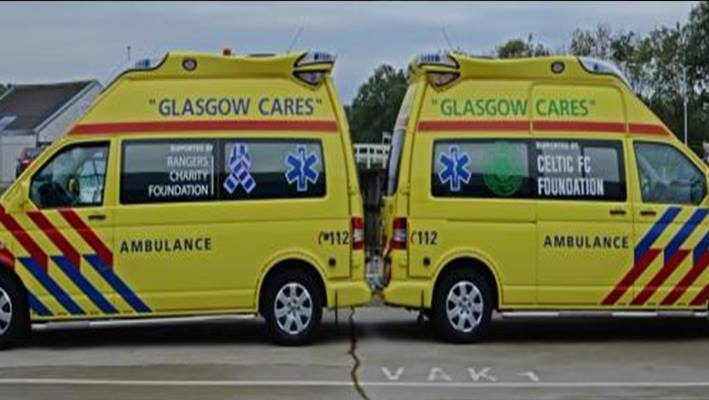 Old Firm ambulances to help Syrian refugeesimage