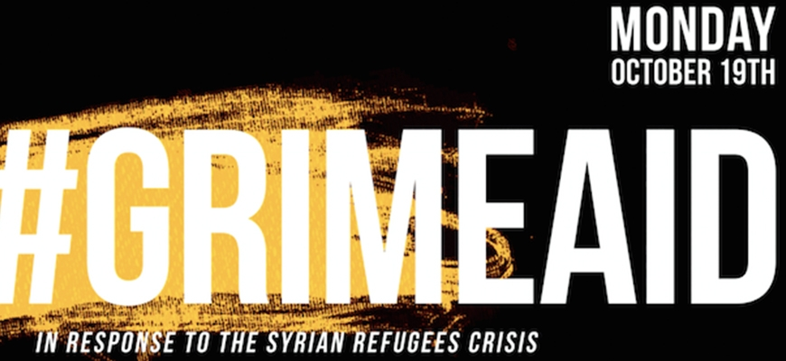 GRIME COMES TOGETHER IN SUPPORT OF THE SYRIAN REFUGEE CRISISimage