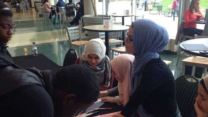 EMU students collecting donations for Syrian refugeesimage