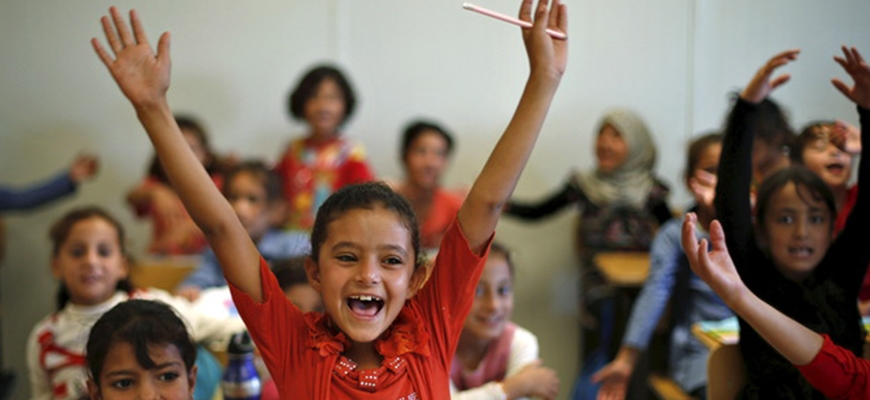 Education for refugees can help save Syria's lost generationimage