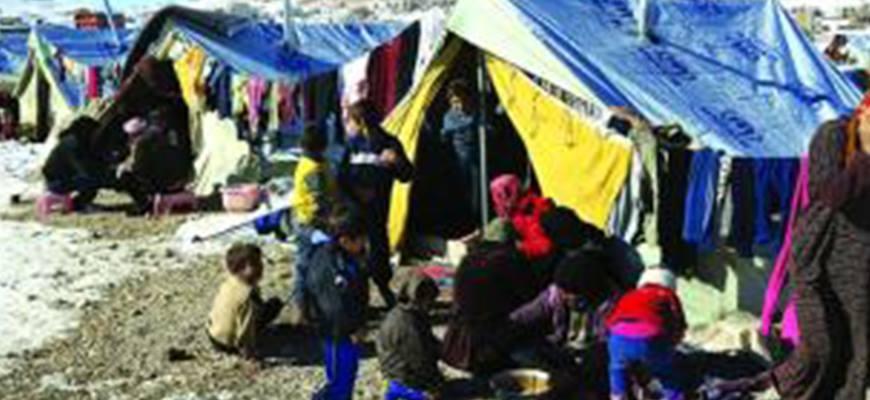 Syrian refugees in Lebanon dream of having heatersimage