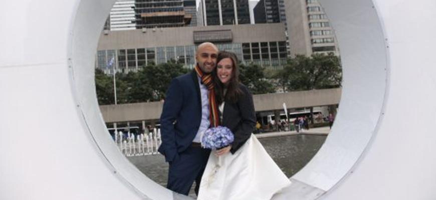 Toronto Couple Give Up Big Wedding To Help Syriansimage