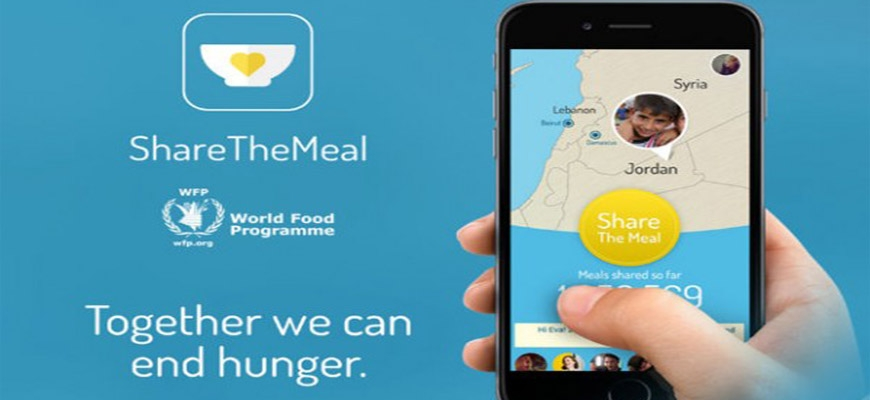 "Feed Hungry Syrian Children with Mobile App ""Share the Meal""image"
