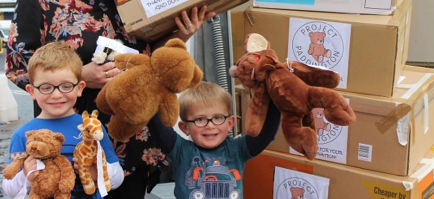 300 Isle of Wight teddies journey to comfort Syrian refugee childrenimage