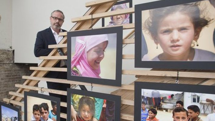 Exhibit to feature photos by Knox County official of Syrian refugeesimage