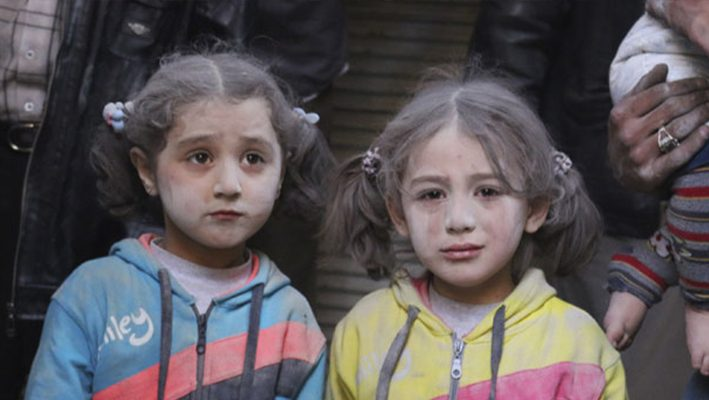 Generation of Syrian children face 'catastrophic' psychological damageimage