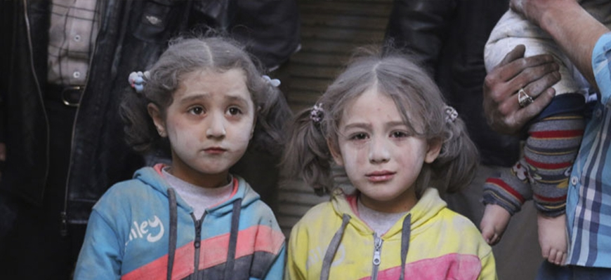 Generation of Syrian children face 'catastrophic' psychological damageimage