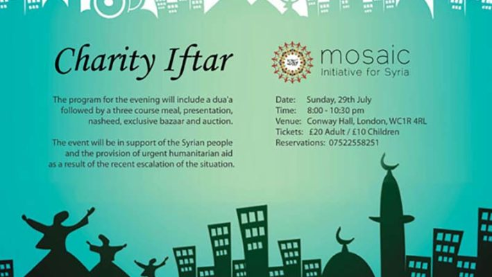 Charity Iftar for Syria