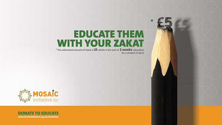 Educate them with your Zakat image
