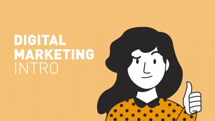 Digital Marketing – Intro graphic